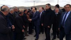 Özbek'ten Selami Ersene Destek Ziyareti