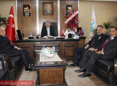 Emniyet Teşkilatı'ndan Belediye Başkanı Memiş'e Ziyaret