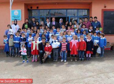 23 Nisan'da Köy Okullarına Armağan
