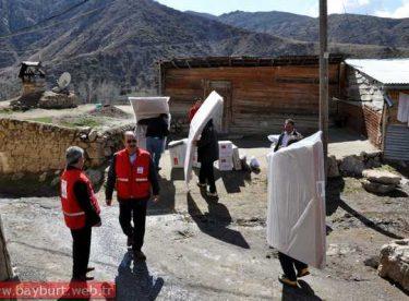Türk Kızılay'ından Yangın Zedelere Yardım