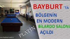 Bölgenin En Modern Bilardo Salonu Hizmete Açıldı