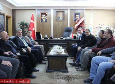 Teknik Forum Derneği'nden Belediye Başkanı Memiş'e Ziyaret