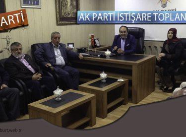 Özbek, Bayburt Ak Parti İl İstişare Toplantısına Katıldı