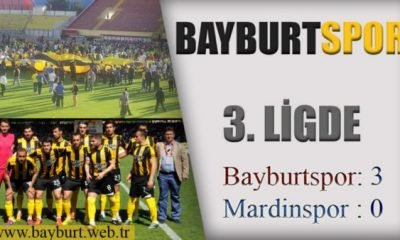 Bayburtspor 3. Ligde (3-0)
