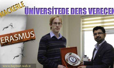 Mackerle, Erasmus Kapsamında Üniversitede Derslere Girecek