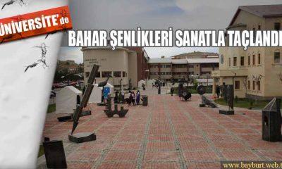 Bayburt Üniversitesi Bahar Şenlikleri Sanatla Taçlandı