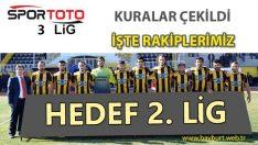 Bayburtspor'un 3. Lig'deki Rakipleri Belli Oldu