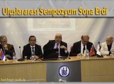 Uluslararası Sempozyum Sona Erdi