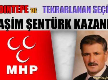 Aydıntepe'de Tekrarlanan Seçimi Haşim Şentürk Kazandı