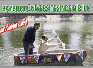 Bayburt Üniversitesi Bir İlki Başarmanın Mutluluğunu Yaşıyor