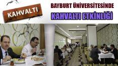 Bayburt Üniversitesinde Kahvaltı Etkinliği