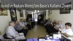 Belediye Başkanı Memiş'ten Basın'a Kutlama Ziyareti