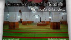 Ramazan'da Ulucami'de Mukabele