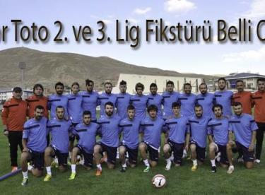 Spor Toto 2. ve 3. Lig Fikstürü Belli Oldu
