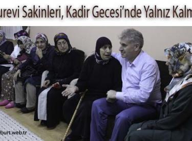 Huzurevi Sakinleri, Kadir Gecesi'nde Yalnız Kalmadı