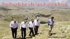 Ömer Dinçer Bayburt 'ta Bir Takım Ziyaretlerde Bulundu