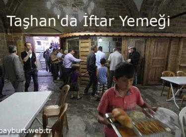 Taşhan'da İftar Yemeği