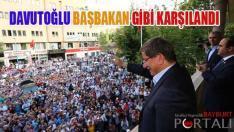 Davutoğlu, Başbakan Gibi Karşılandı