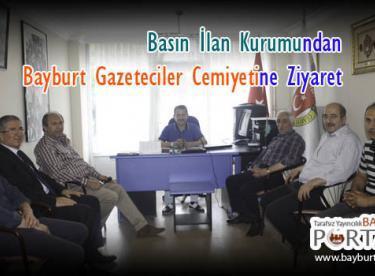 Basın İlan Kurumundan Gazeteciler Cemiyetine Ziyaret