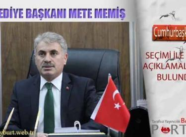 Belediye Başkanı Memiş'ten Cumhurbaşkanlığı Seçimi Mesajı
