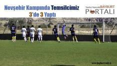 Nevşehir Kampında Temsilcimiz 3'de 3 Yaptı