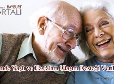 Seçimde Yaşlı ve Hastalara Ulaşım Desteği Verilecek