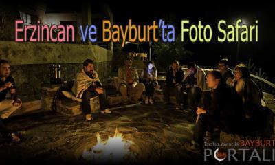 Erzincan ve Bayburt'ta Foto Safari