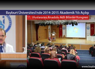 Bayburt Üniversitesi'nde 2014-2015 Akademik Yılı Açılışı