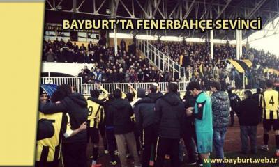 Bayburt'ta Fenerbahçe sevinci !