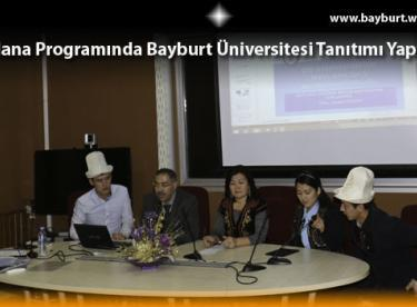 Mevlana Programında Bayburt Üniversitesi Tanıtımı Yapıldı