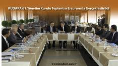 KUDAKA Yönetim Kurulu Toplantısı Erzurum'da Gerçekleştirildi