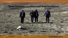 Tarım Yerleşkesi İçin Alternatif Arazi İncelemesi