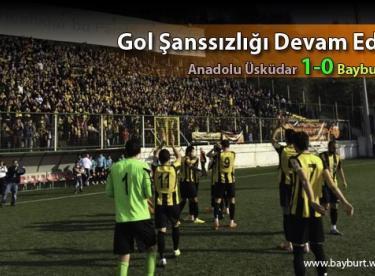 Bayburtspor'da Gol Şanssızlığı Devam Ediyor