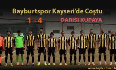 Bayburtspor, Kayseri'de Coştu