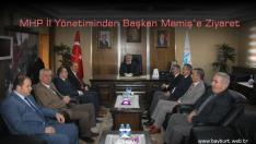 MHP İl Yönetiminden Başkan Memiş'e Ziyaret