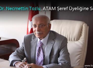 Prof. Dr. Necmettin Tozlu, ATAM Şeref Üyeliğine Seçildi