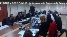 KUDAKA – OECD Ortak Proje Kapsamında Erzurum'da Buluştu