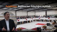 Polattimur, Bayburt'tan Adaylığını Açıkladı