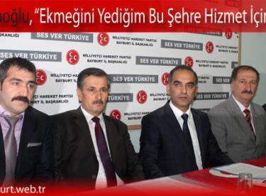 """Dr. Karaoğlu, """"Ekmeğini Yediğim Bu Şehre Hizmet İçin Varım"""""""