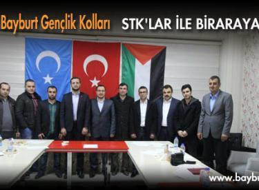 Ak Parti Bayburt Gençlik Kolları STK'lar ile biraraya geldi