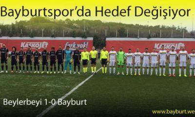 Bayburtspor'da Hedef Değişiyor