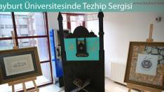 Bayburt Üniversitesinde Tezhip Sergisi