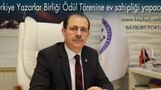 Türkiye Yazarlar Birliği Ödül Törenine ev sahipliği yapacak