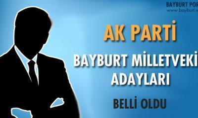 Ak Parti 25. Dönem Milletvekili Bayburt Adayları