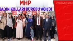 MHP Kadın Kolları İl Başkanlığı İrtibat Bürosu Açıldı