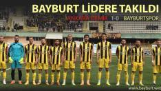 Bayburtspor, Lidere Takıldı
