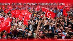 Ülkücüler, Ali Kınık ve Mustafa Yıldızdoğan'la Coştu