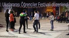 1. Uluslararası Öğrenciler Festivali düzenlendi