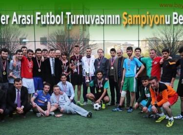 Öğrenciler Arası Futbol Turnuvasının Şampiyonu Belli Oldu