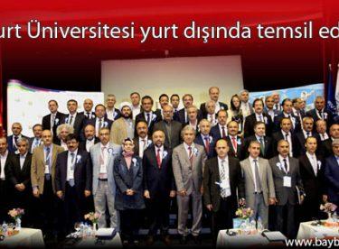 Bayburt Üniversitesi yurt dışında temsil ediliyor